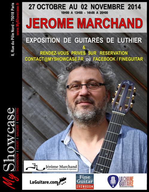 Jérome MARCHAND Guitares - Fiche - MyShowcase 2014